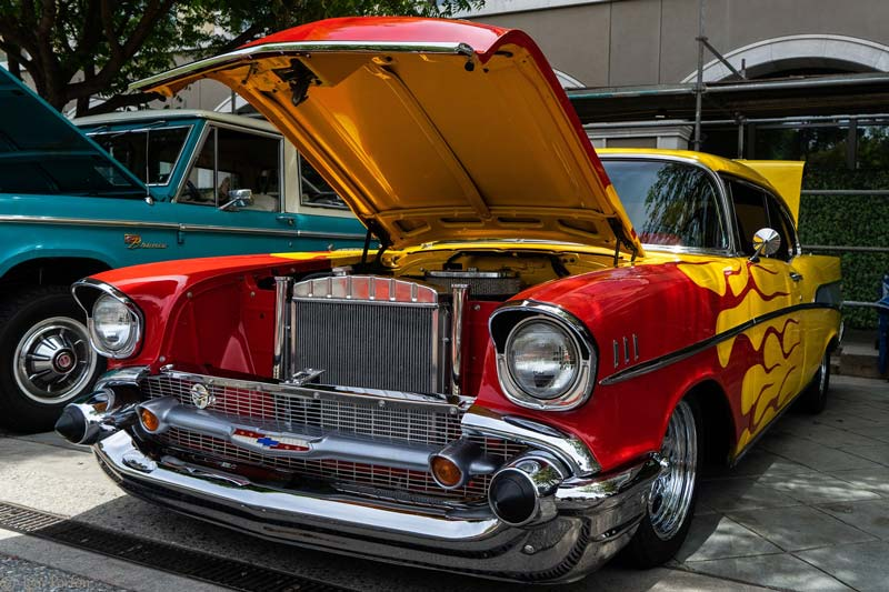 car show chevy bel air 2018 lg